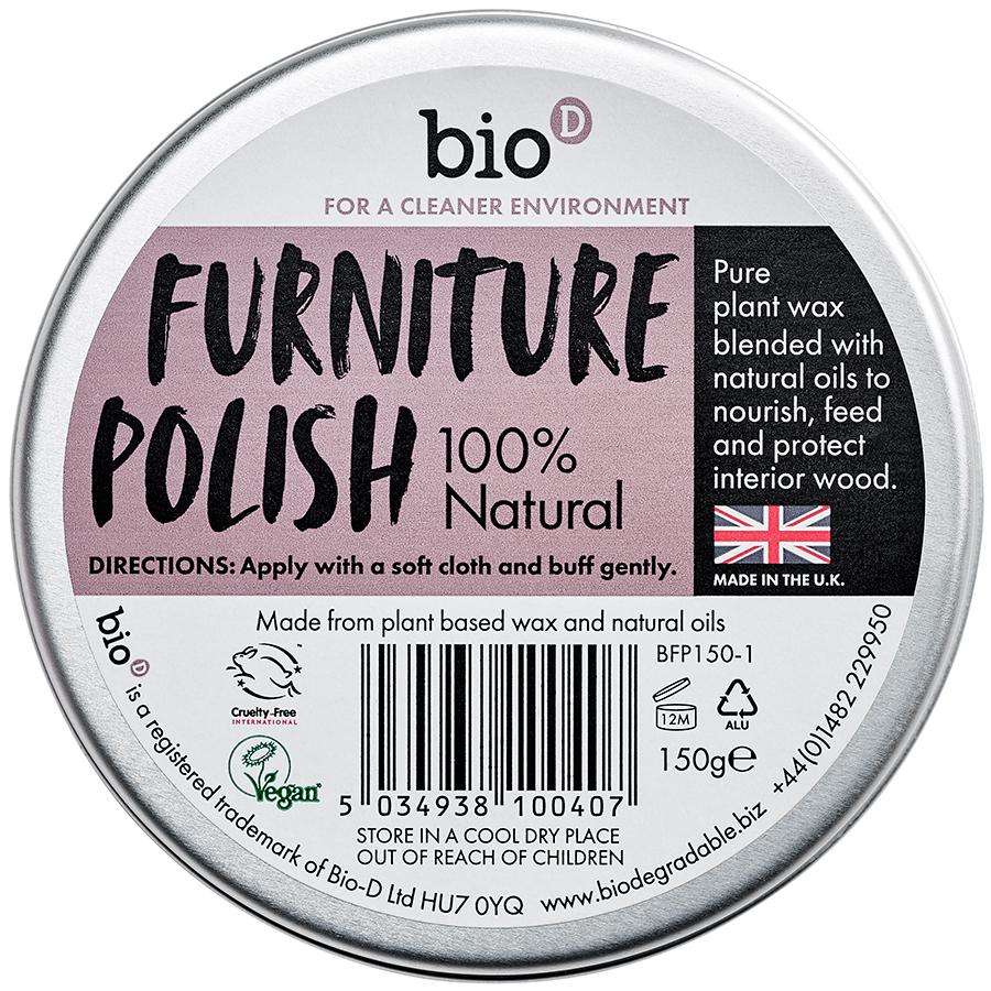 Furniture Polish - Tin 150G (bio-d)