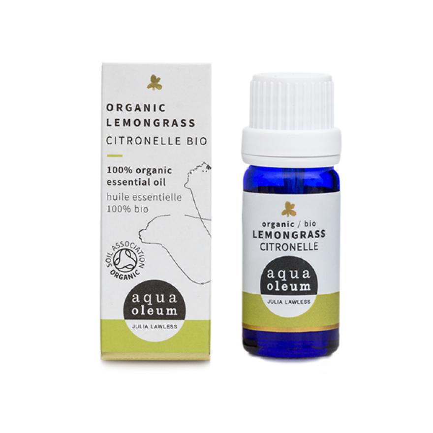 Lemongrass Essential Oil (Organic, Aqua Oleum)