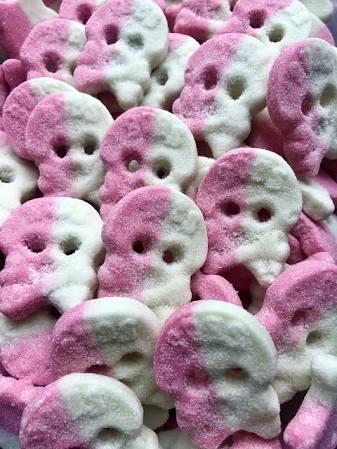 BUBS Cool Melon Foam Skulls