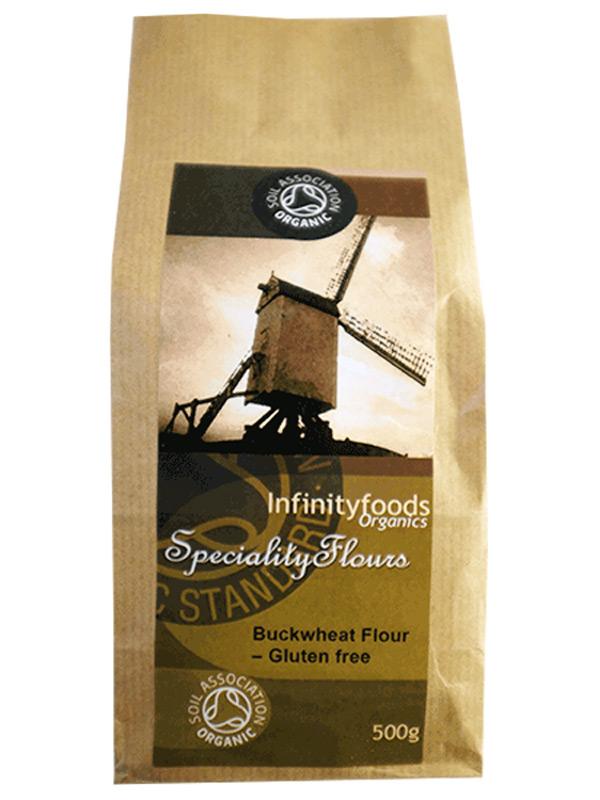 Buckwheat Flour 500g (Organic, Infinity Foods)