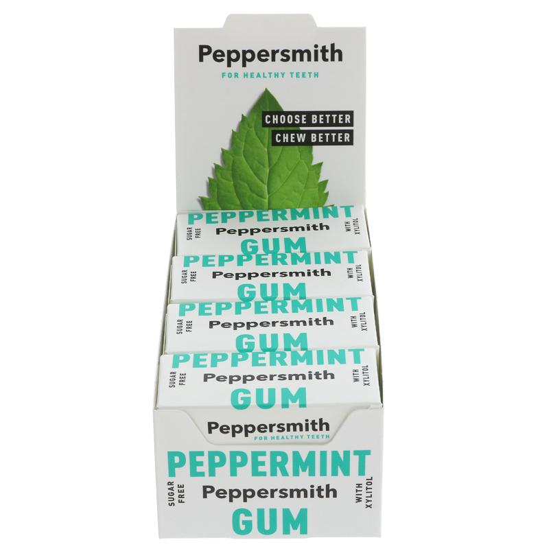 Peppersmith Peppermint Gum Small (15G)
