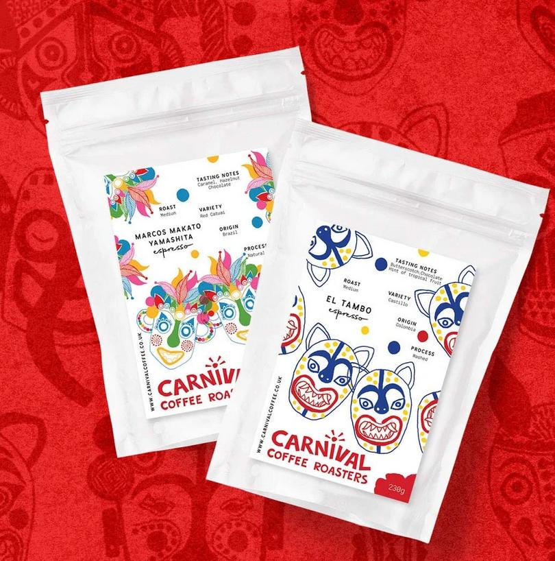 Carnival La Orquida Ground Coffee Brix (organic)