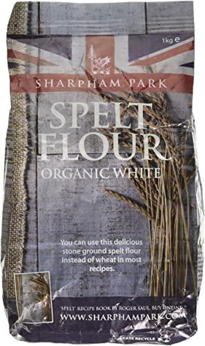 1KG White Spelt Flour (Sharpham Park, organic)