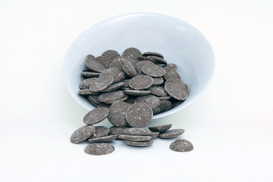 37% Milk Chocolate Buttons (Organic)