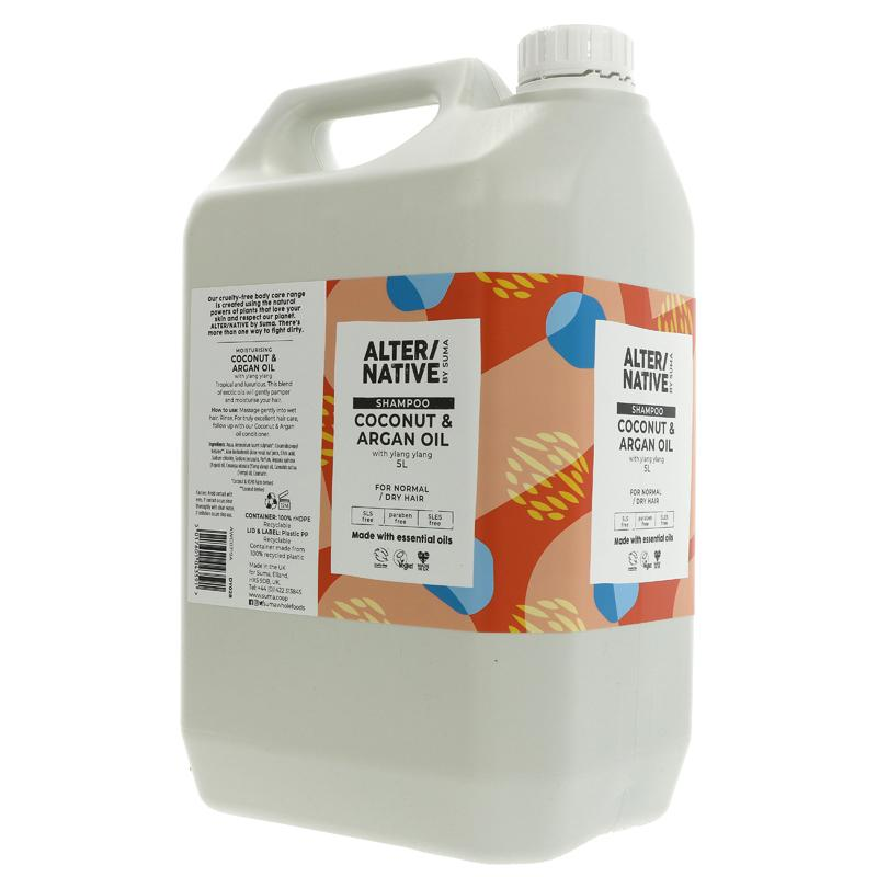Coconut & Argan Oil Shampoo (alter/native)