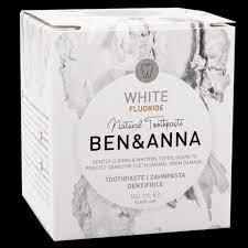 Ben & Anna Toothpaste Paste in a Pot White 100g