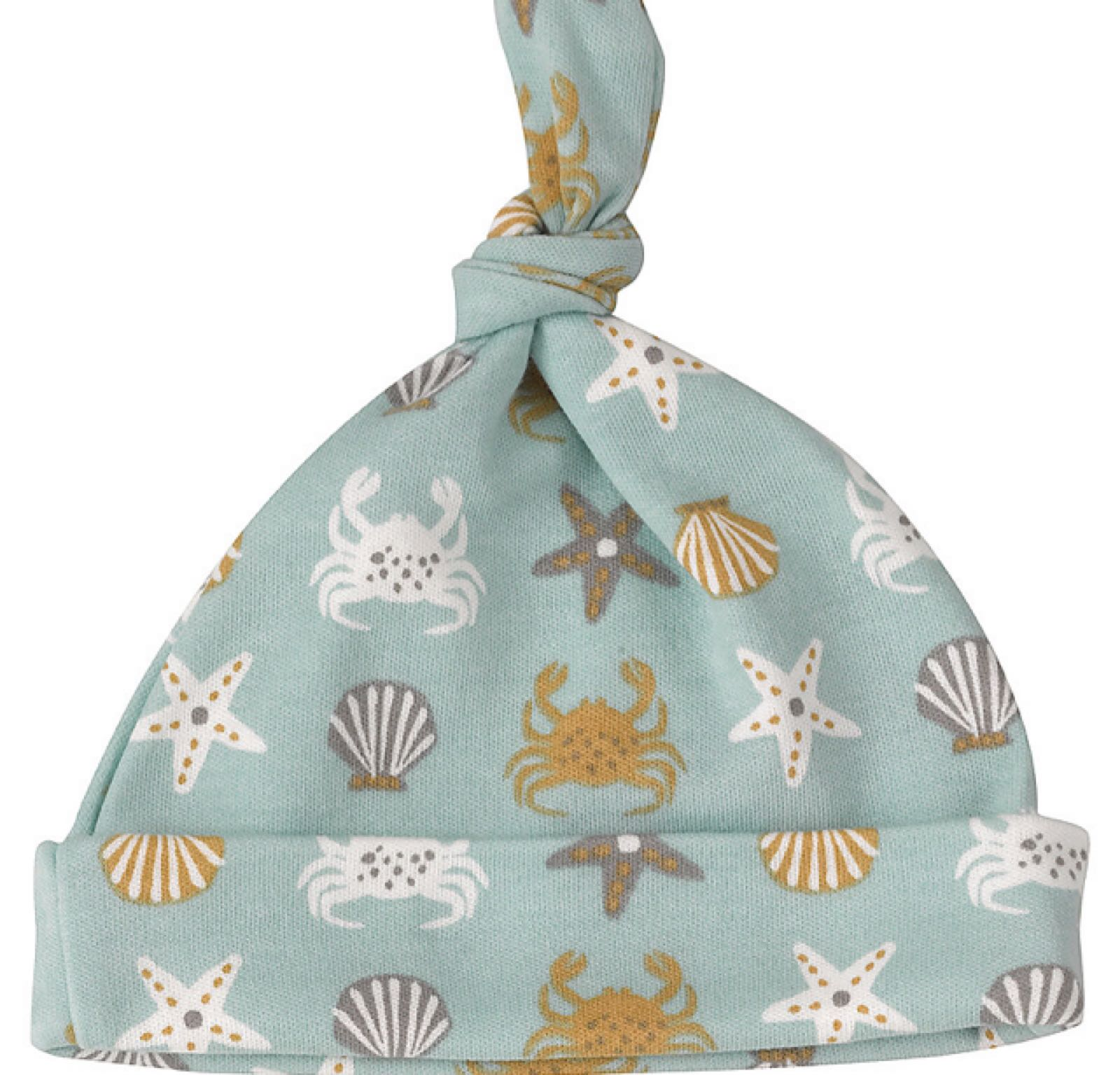 Pigeon crab knotted hat