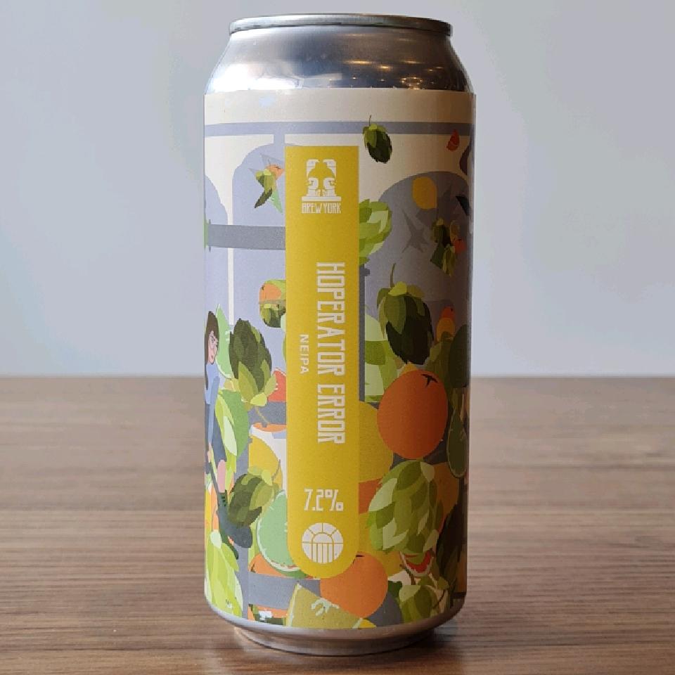 Brew York Hoperator Error