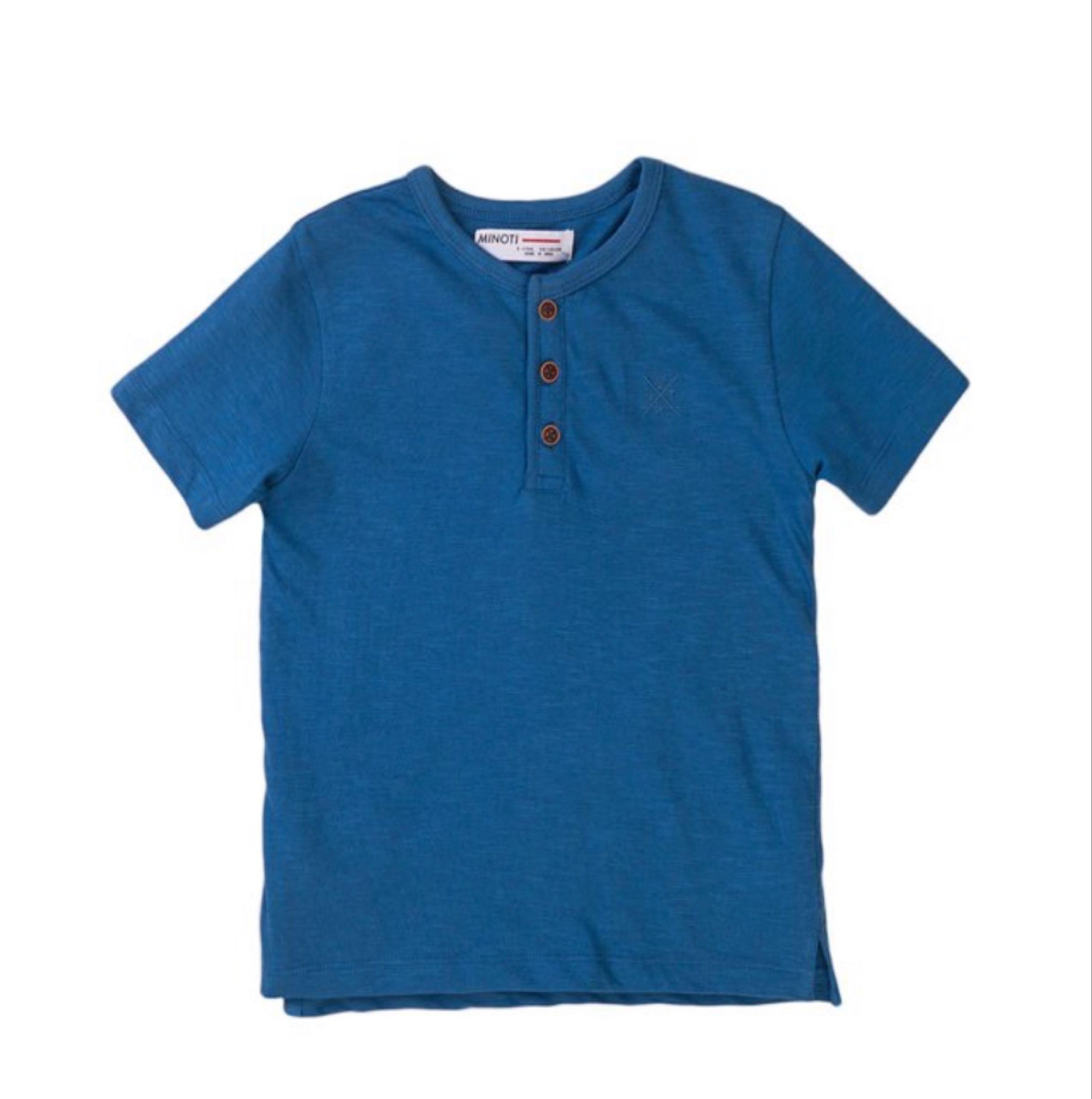 Boys blue Henley top