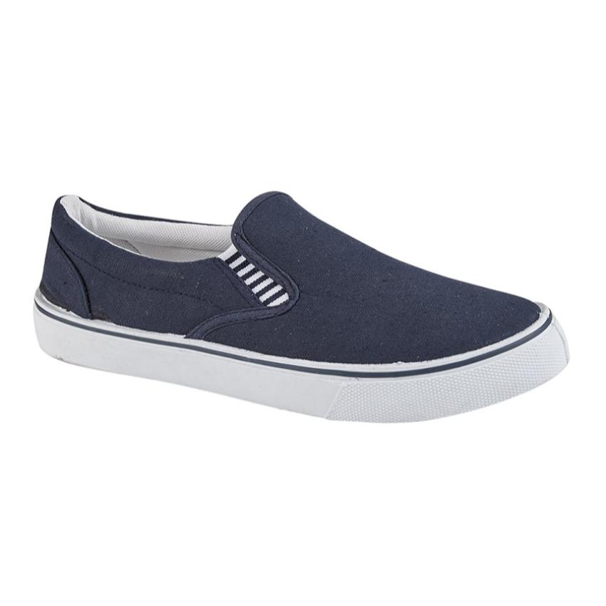 Gents Dek Navy Yacht Shoes