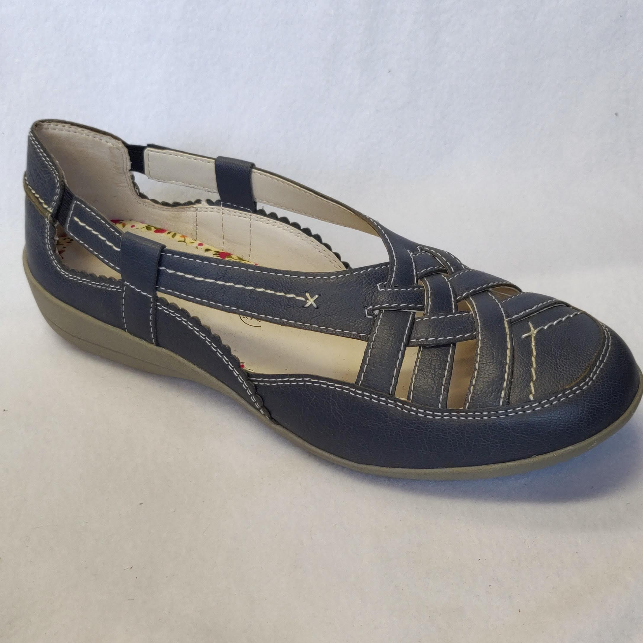 Ladies Padders Delta Blue Sandals Size 5.5/6.5