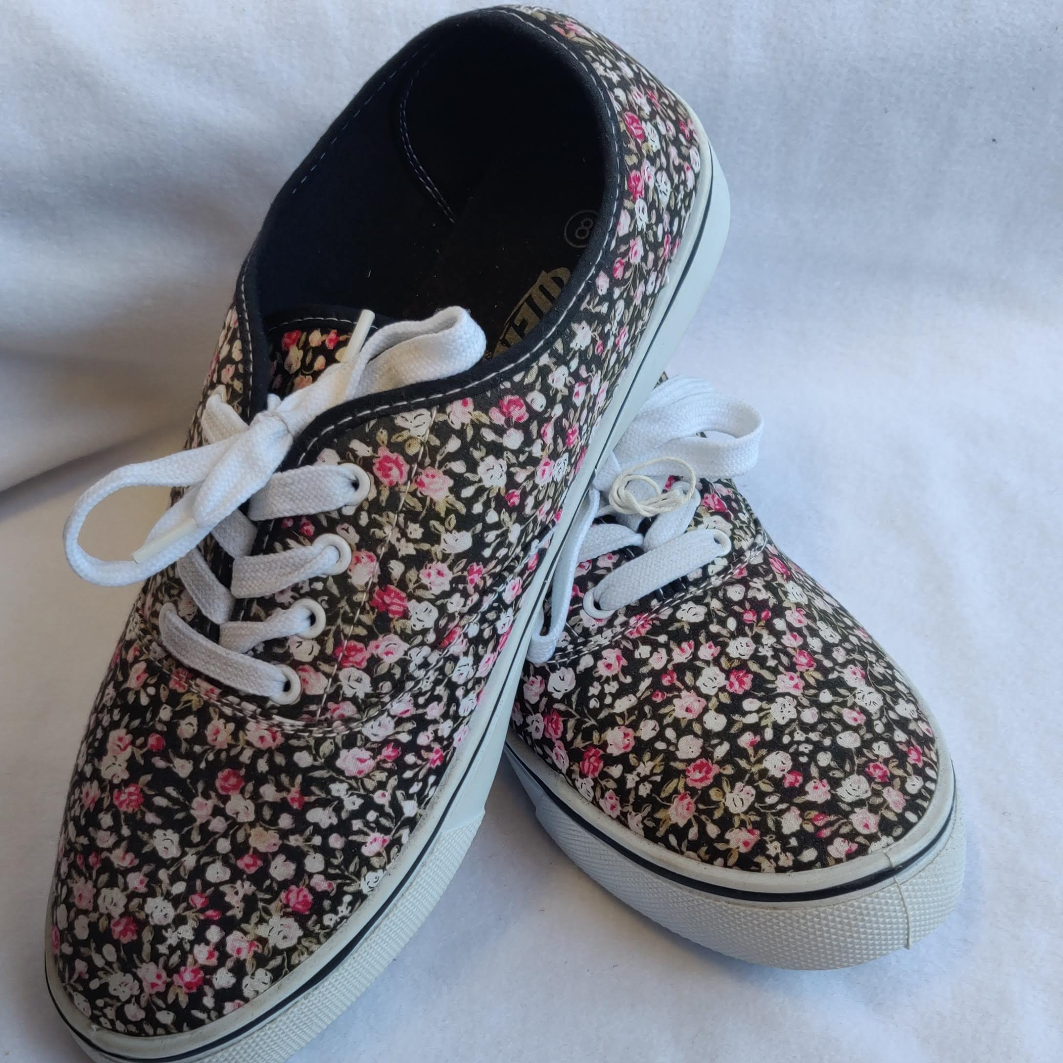 Dek Ladies Floral Summer Plimsoles