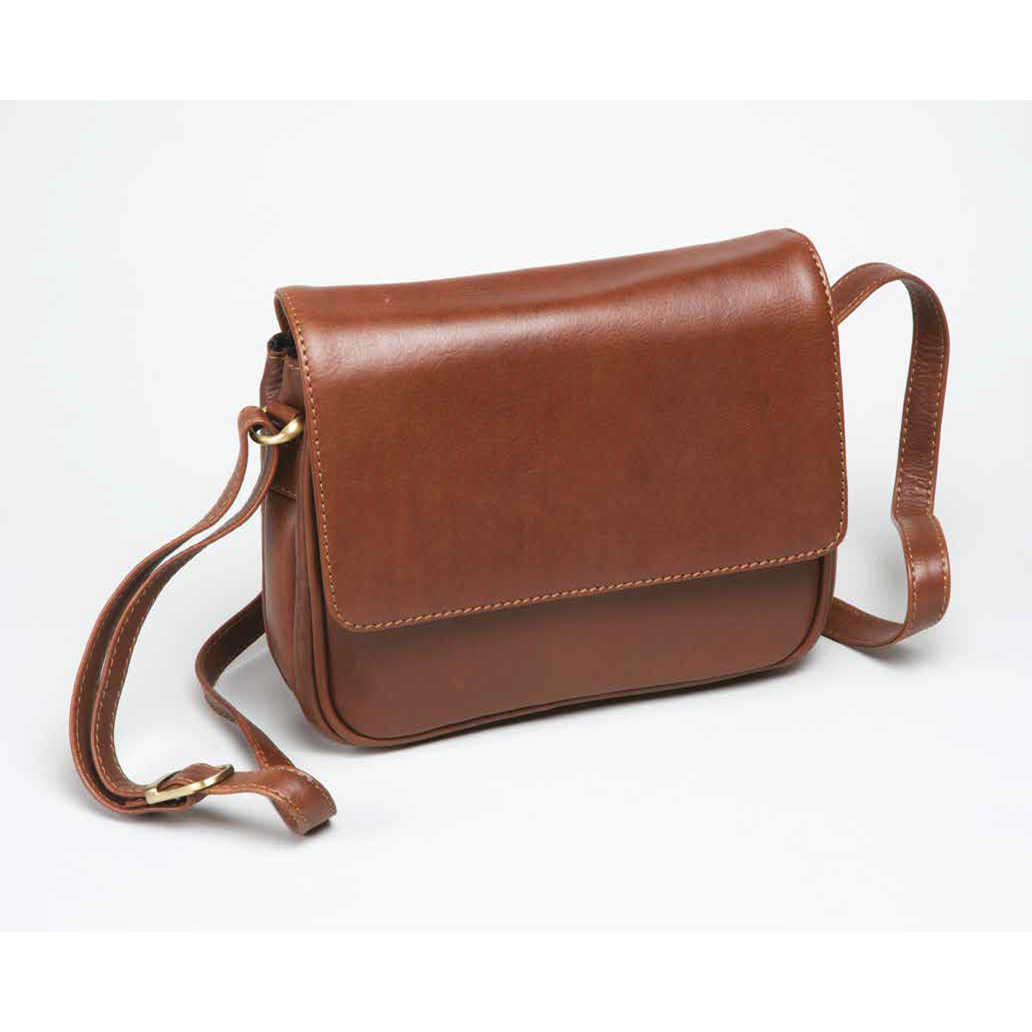 Ladies Leather Tan Handbag 691034C0