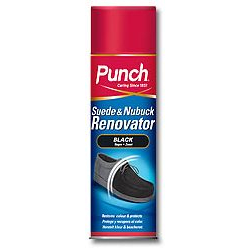 Punch Suede and Nubuck Renovator Black Aerosol