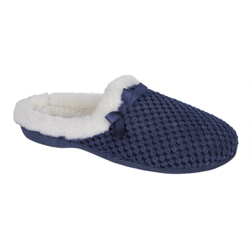 Kerri Navy Slippers