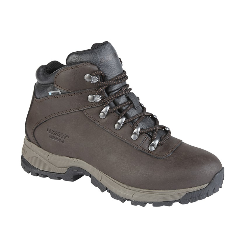 Hi Tec Eurotrek Ladies Leather Walking Boots (6)