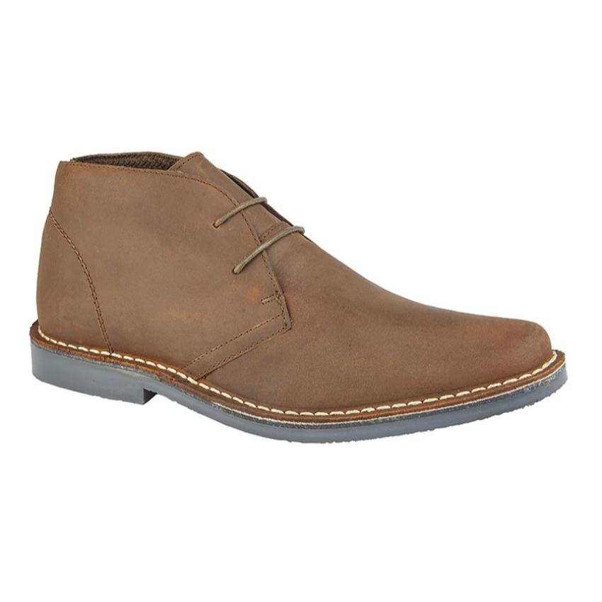 Gents Roamers 2 Eye Leather Desert Boots