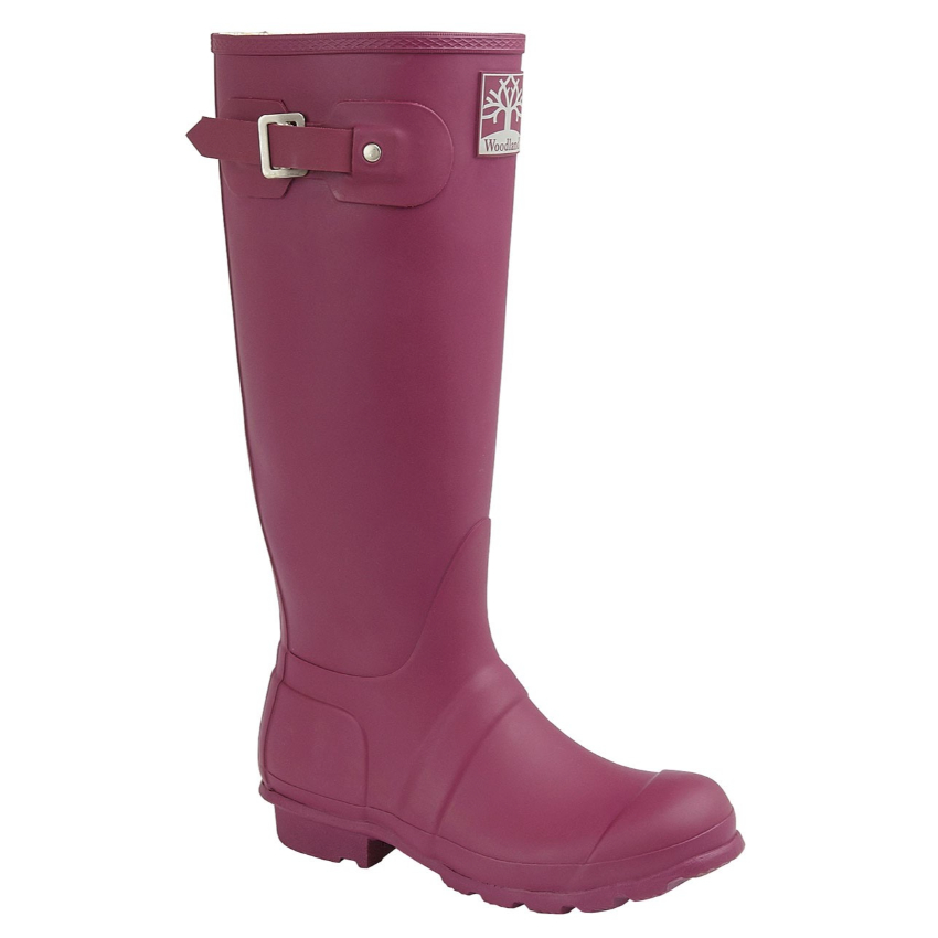Woodland Purple Wellingtons
