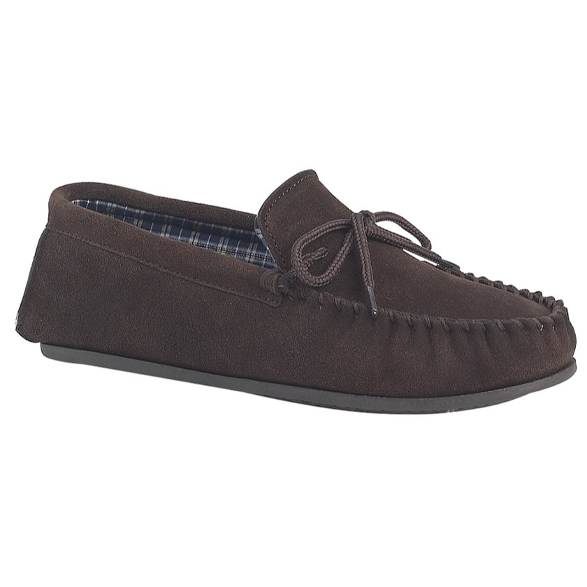 Mokkers Gents Dark Brown Slippers