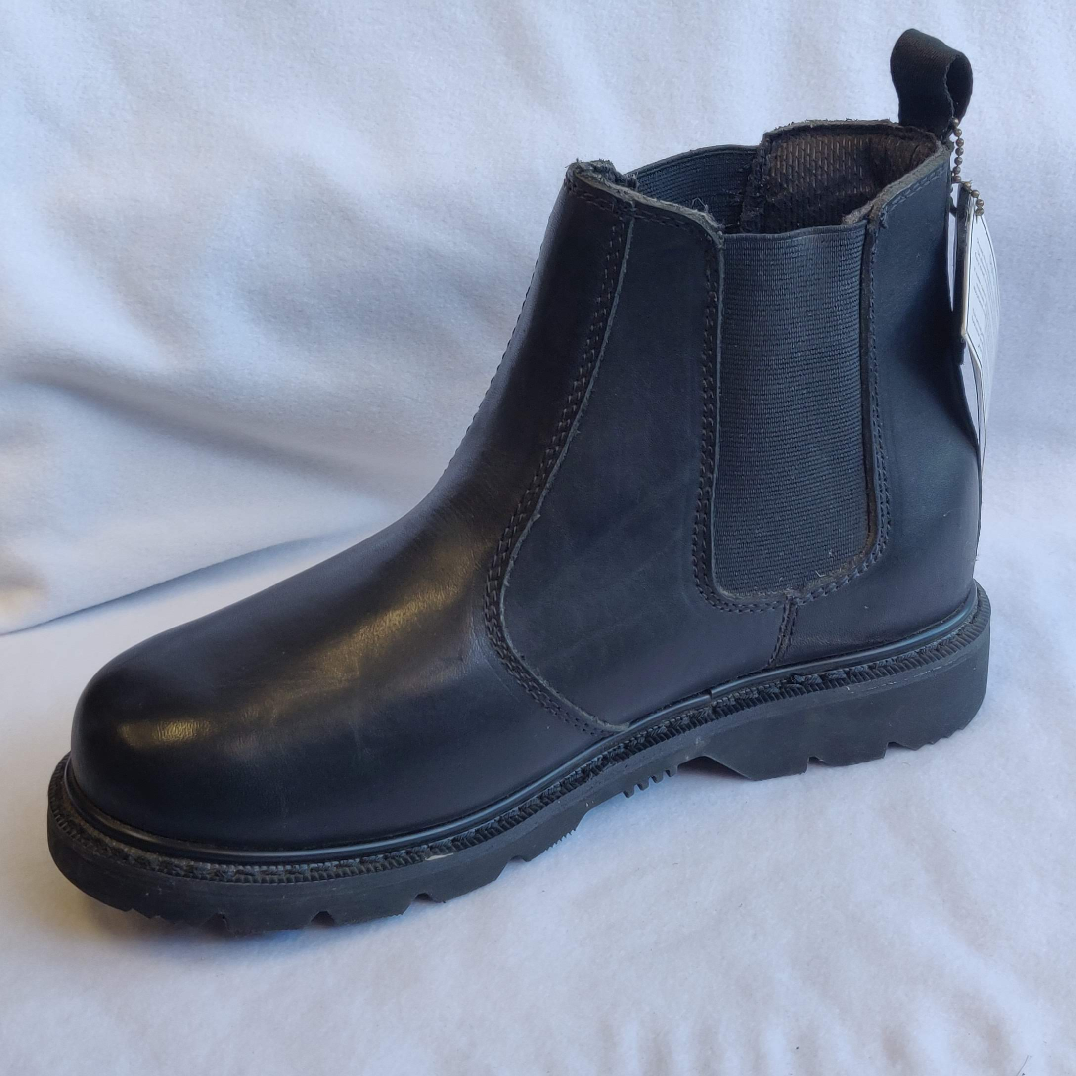 Gents Grafters Black Leather Chelsea Boots (7)