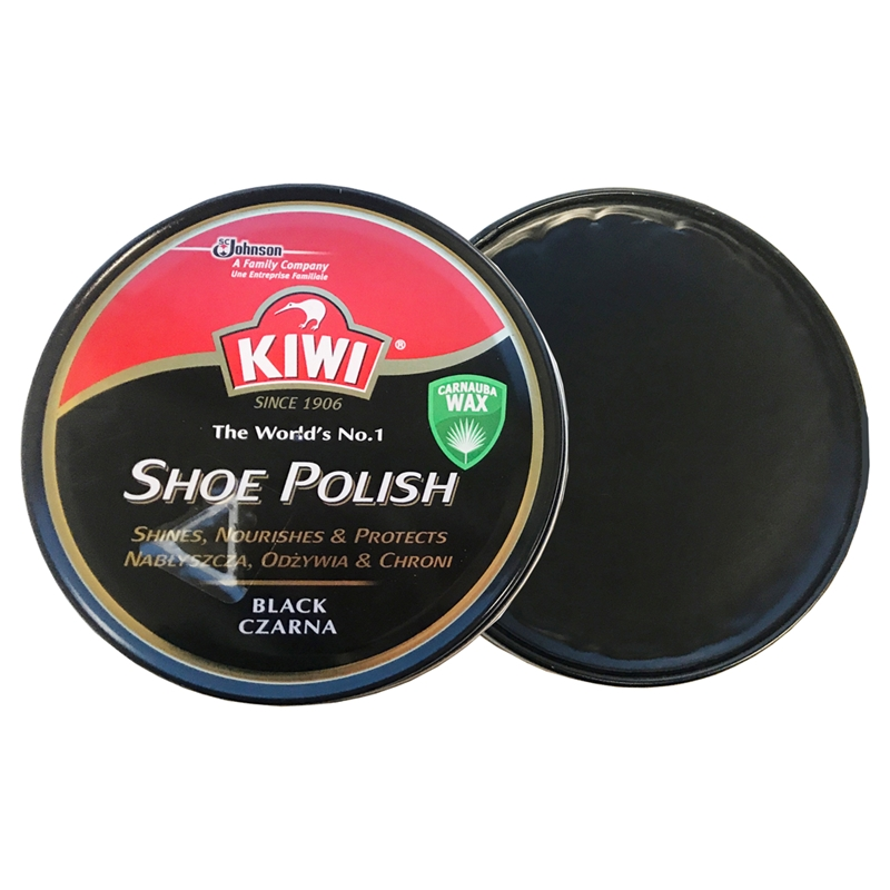 Kiwi Extra Large Black Polish 100ml