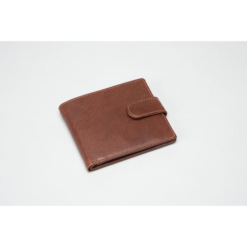 Mens Leather Brown Wallet 611000C0