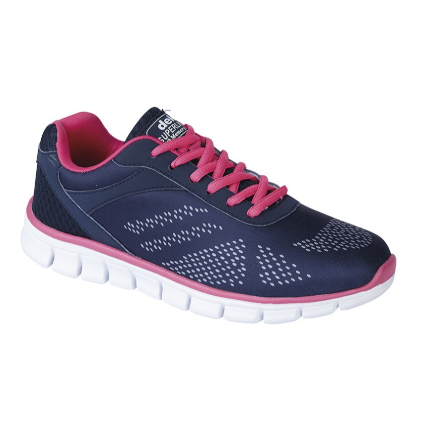 Ladies Dek Firelight Trainers