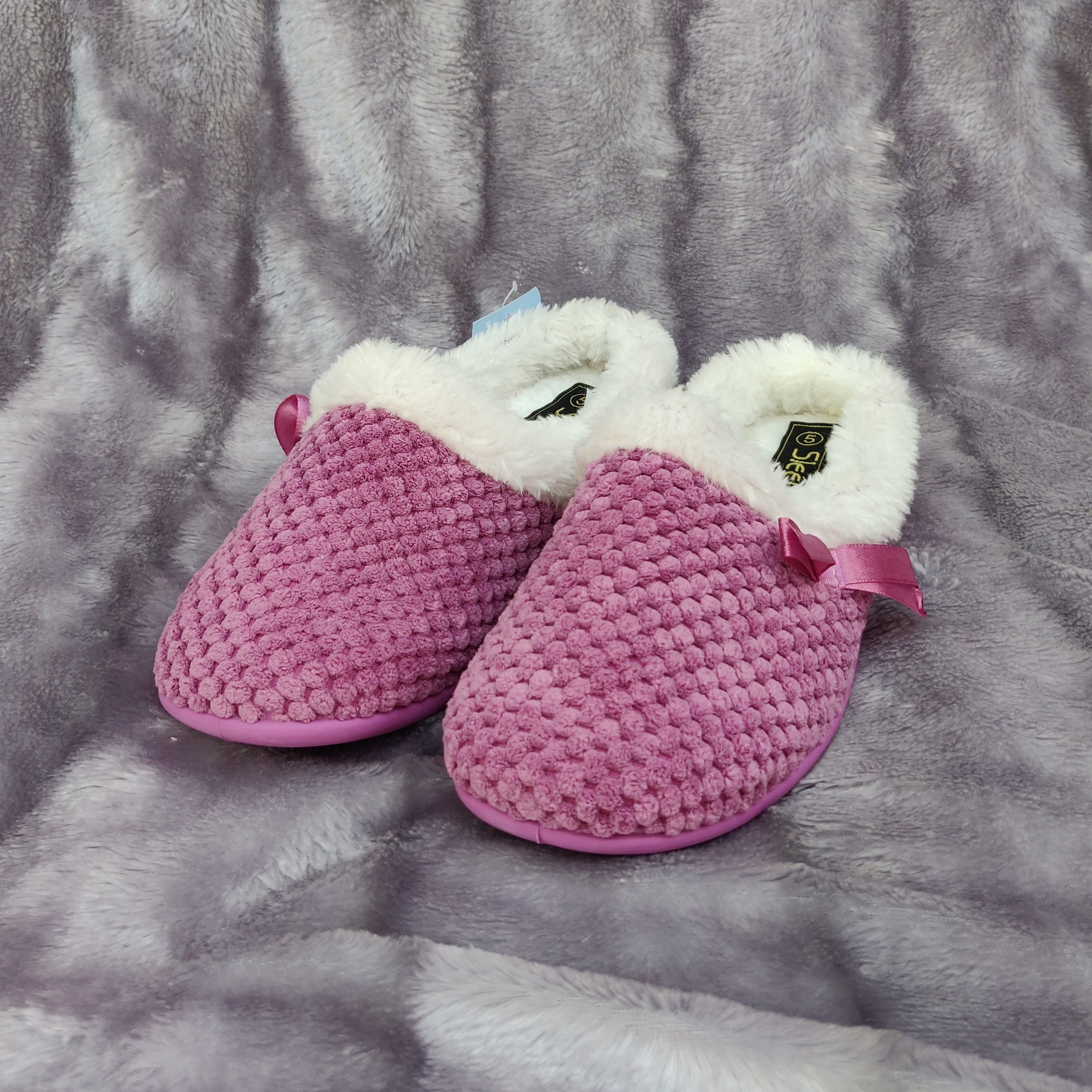 Kerri Pink Slippers