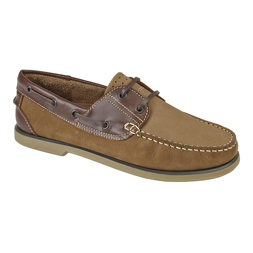 Dek Brown Nubuck Boat Shoes