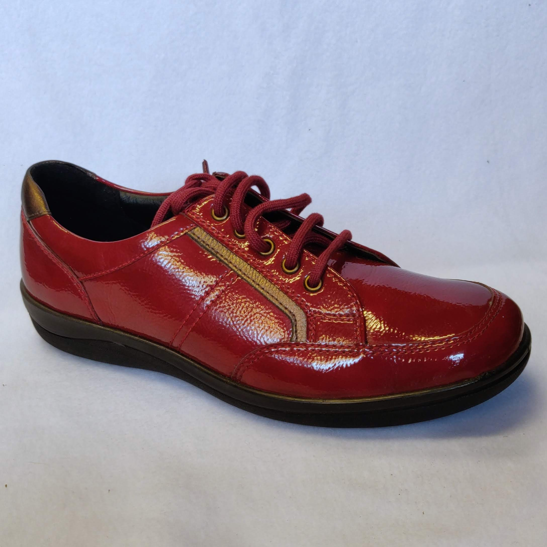 Ladies Padders Atom Red Size 5.5