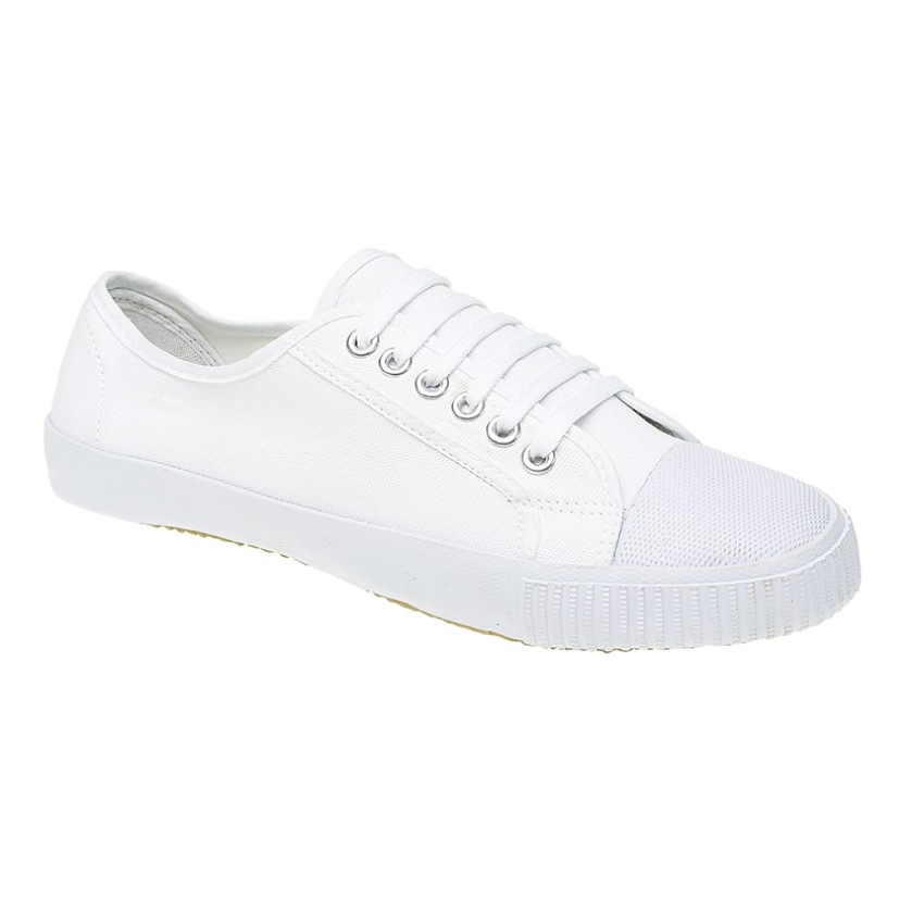 White Plimsoles