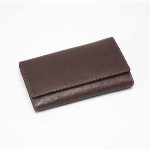 Ladies Leather Purse Brown 603115MB