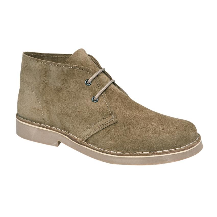 Ladies Roamers 2 Eyelet Khaki Desert Boots