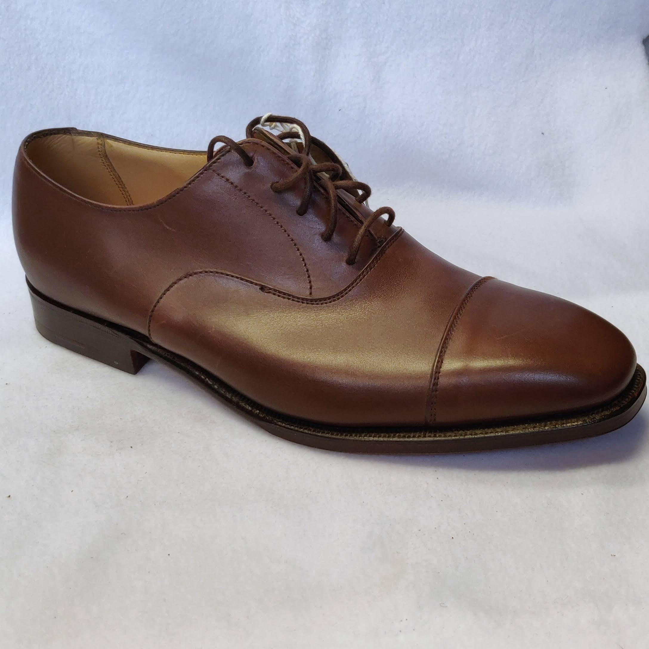 Gents Alfred Southwald Brown Oxfords Size 8
