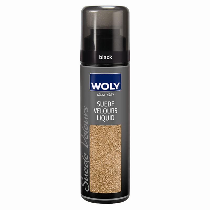Woly Suede Velours Renovating Liquid Black