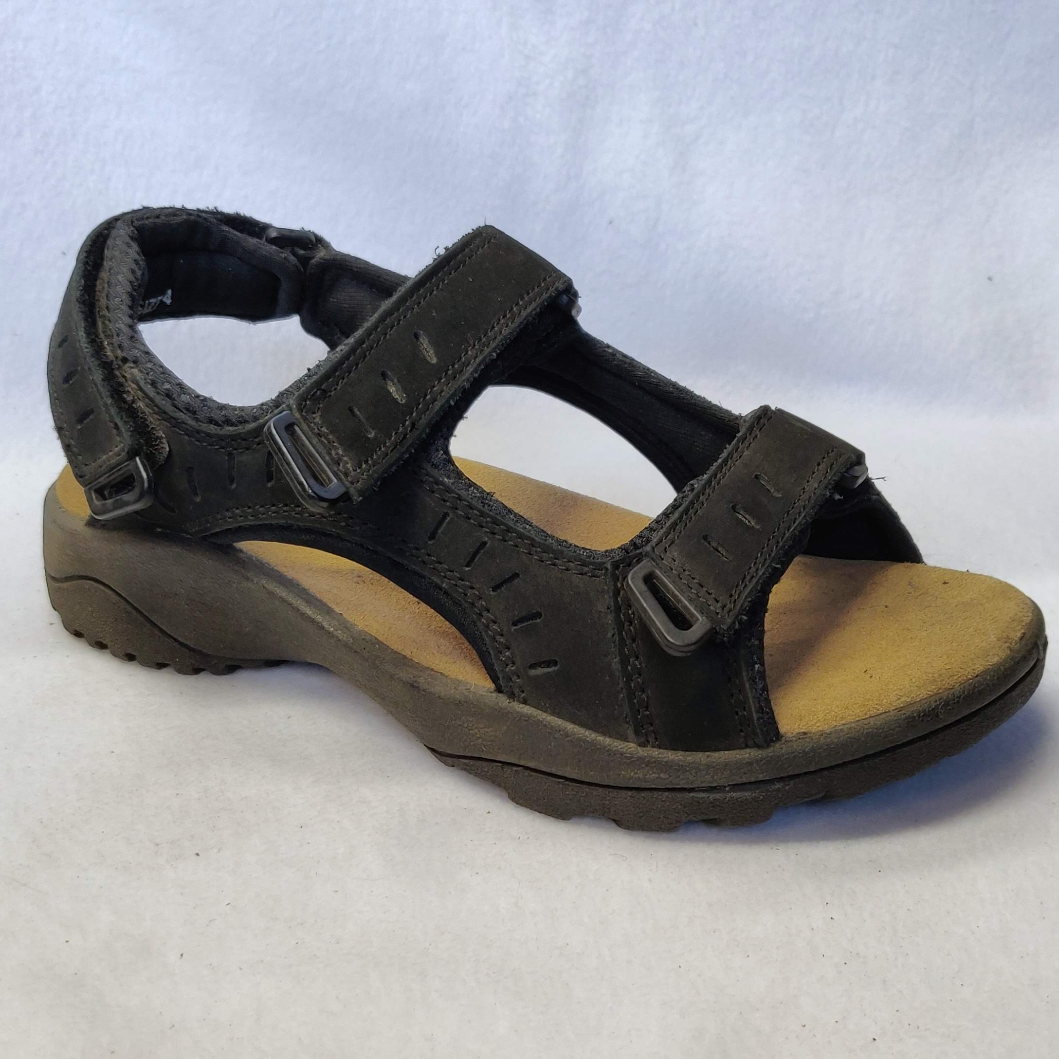 Ladies Padders Tiree Black Sandals Size 4