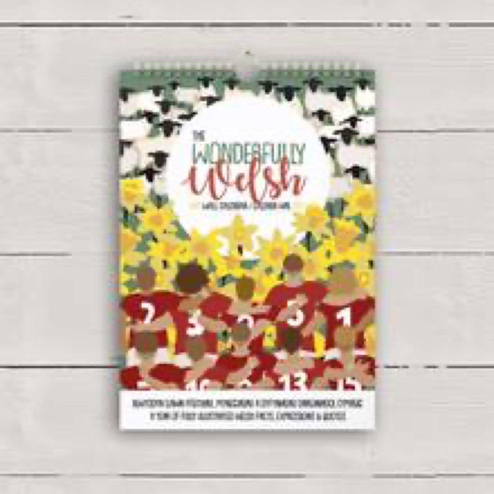 Wonderfully Welsh Wall Calendar