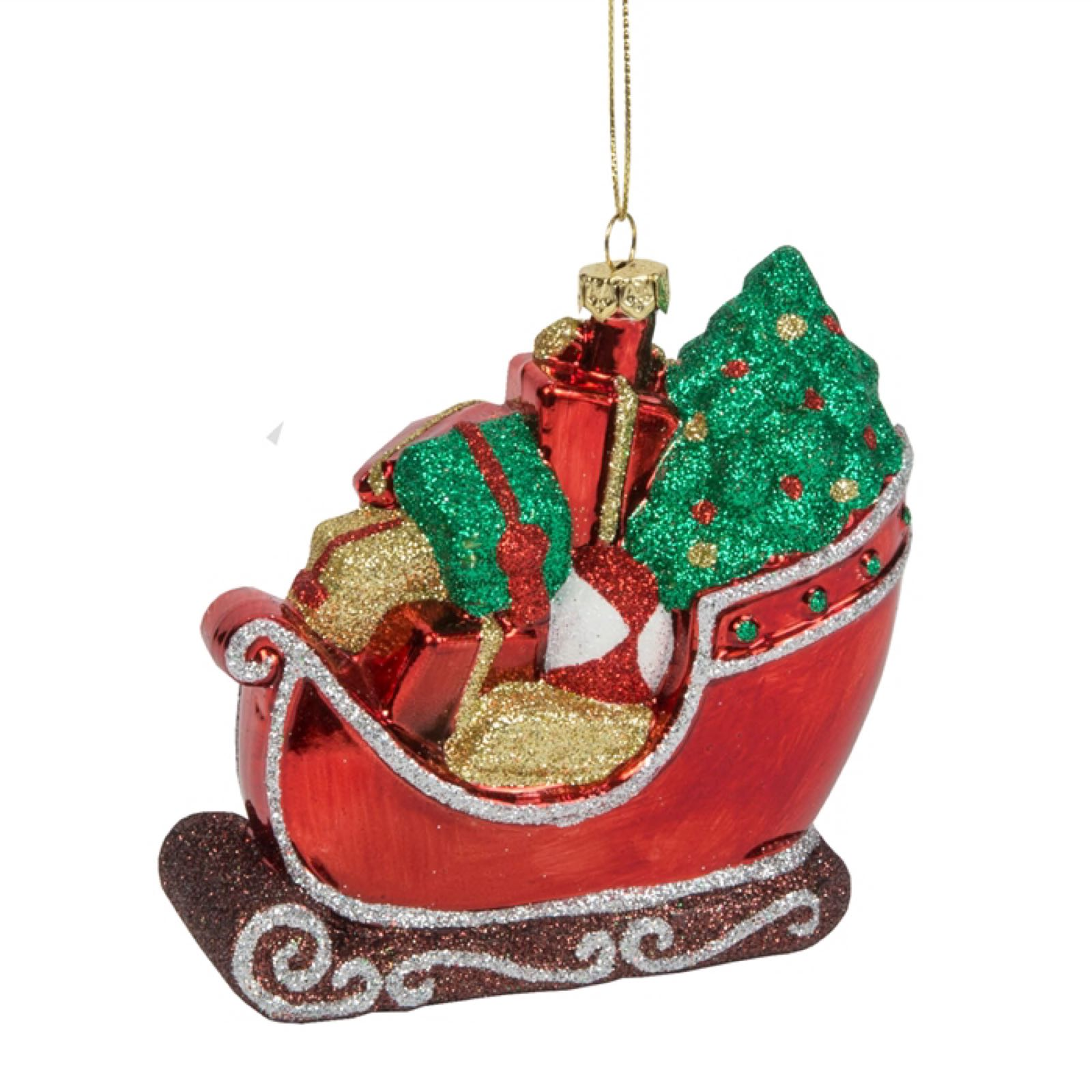 'Santa's Sleigh' Oversized Decoration