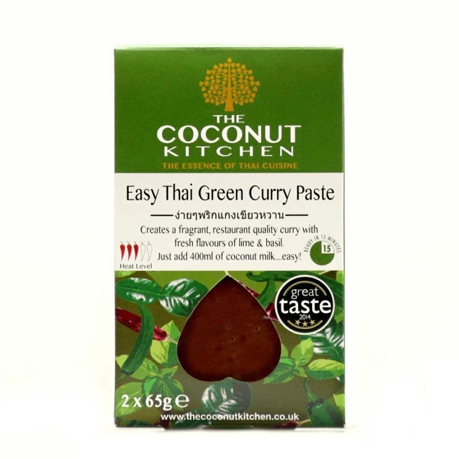 The Coconut Kitchen Easy Thai Green Curry Paste