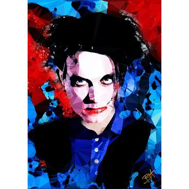 Egoiste Gallery Robert Smith (I) Signed A4 Print