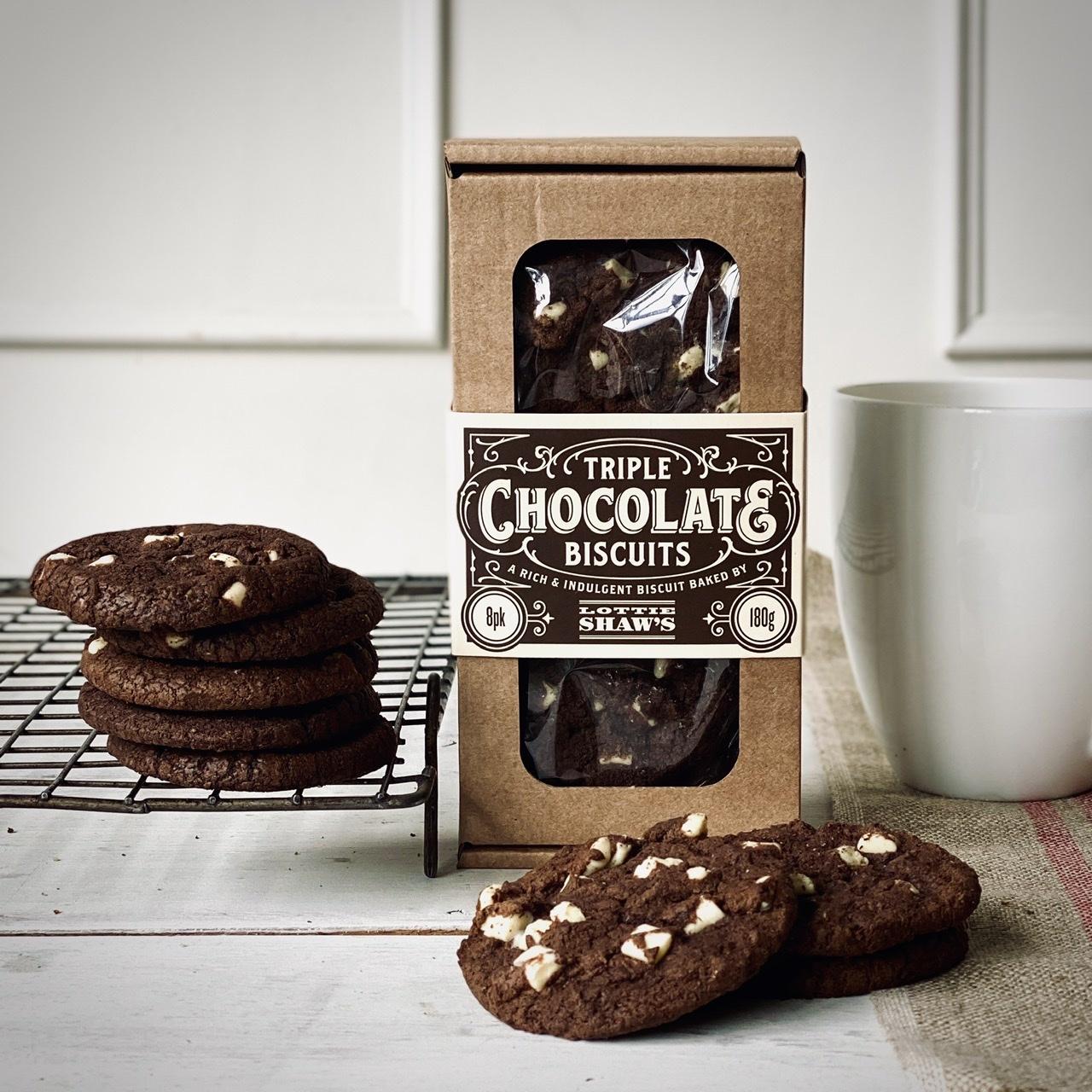 Lottie Shaw's Triple Choc Biscuit Box