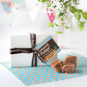Cotswold Fudge Co Chocolate Caramel & Seasalt Gift Box