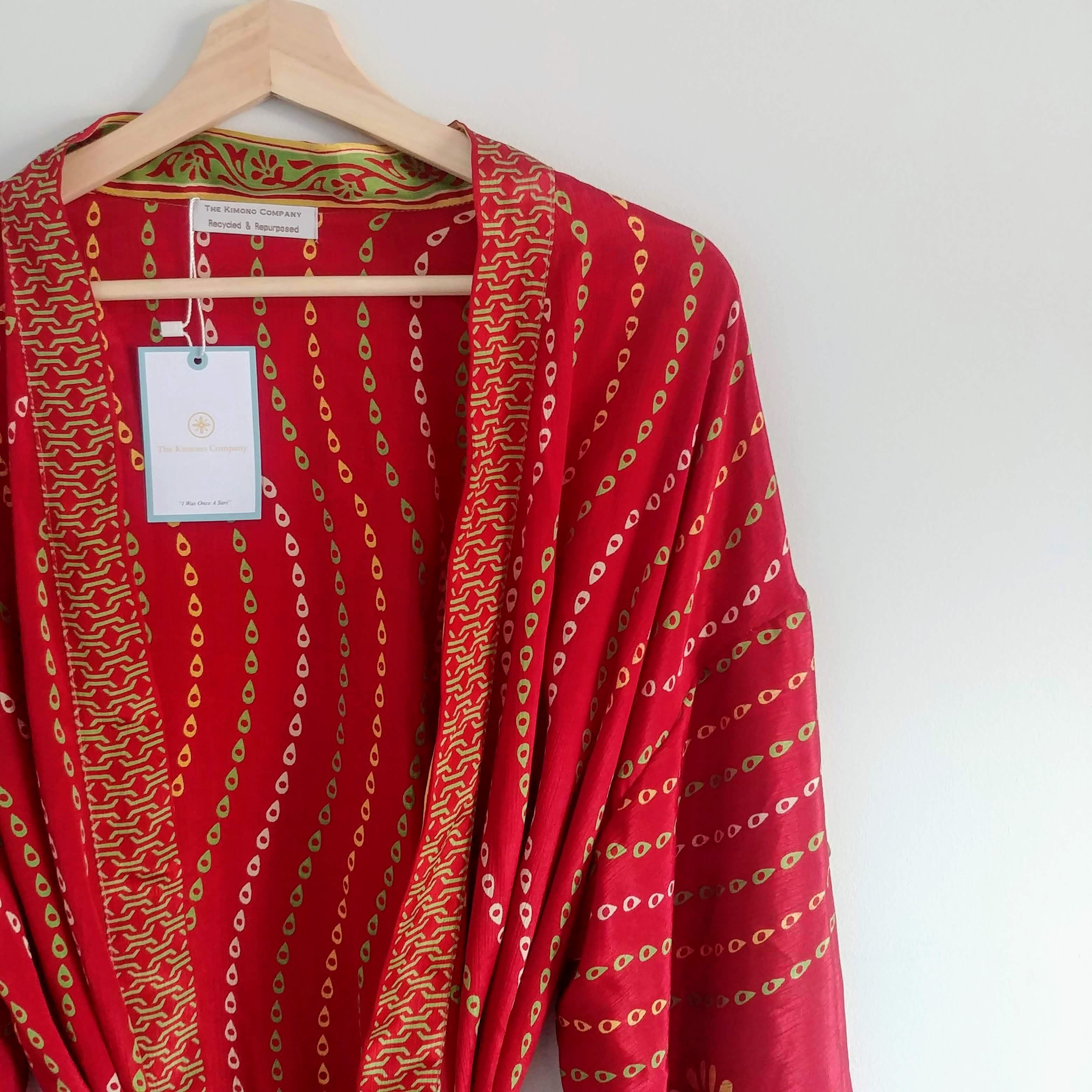 The Kimono Company - Long Kimono, Teardrop
