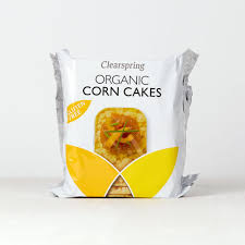 Clearspring Organic Corn Cakes