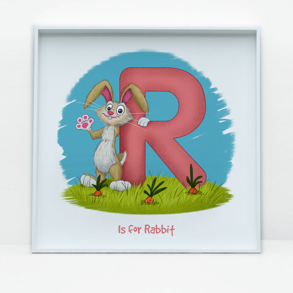 SDB Illustration_R is for Rabbit