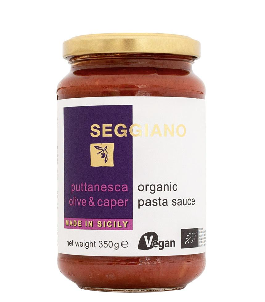 Seggiano Organic Puttanesca Pasta Sauce