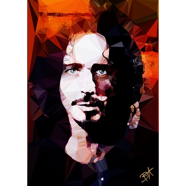 Egoiste Gallery Chris Cornell Signed A4 Print