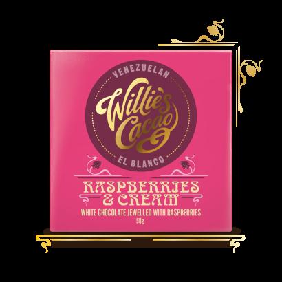 Willie's Cacao Raspberries & Cream