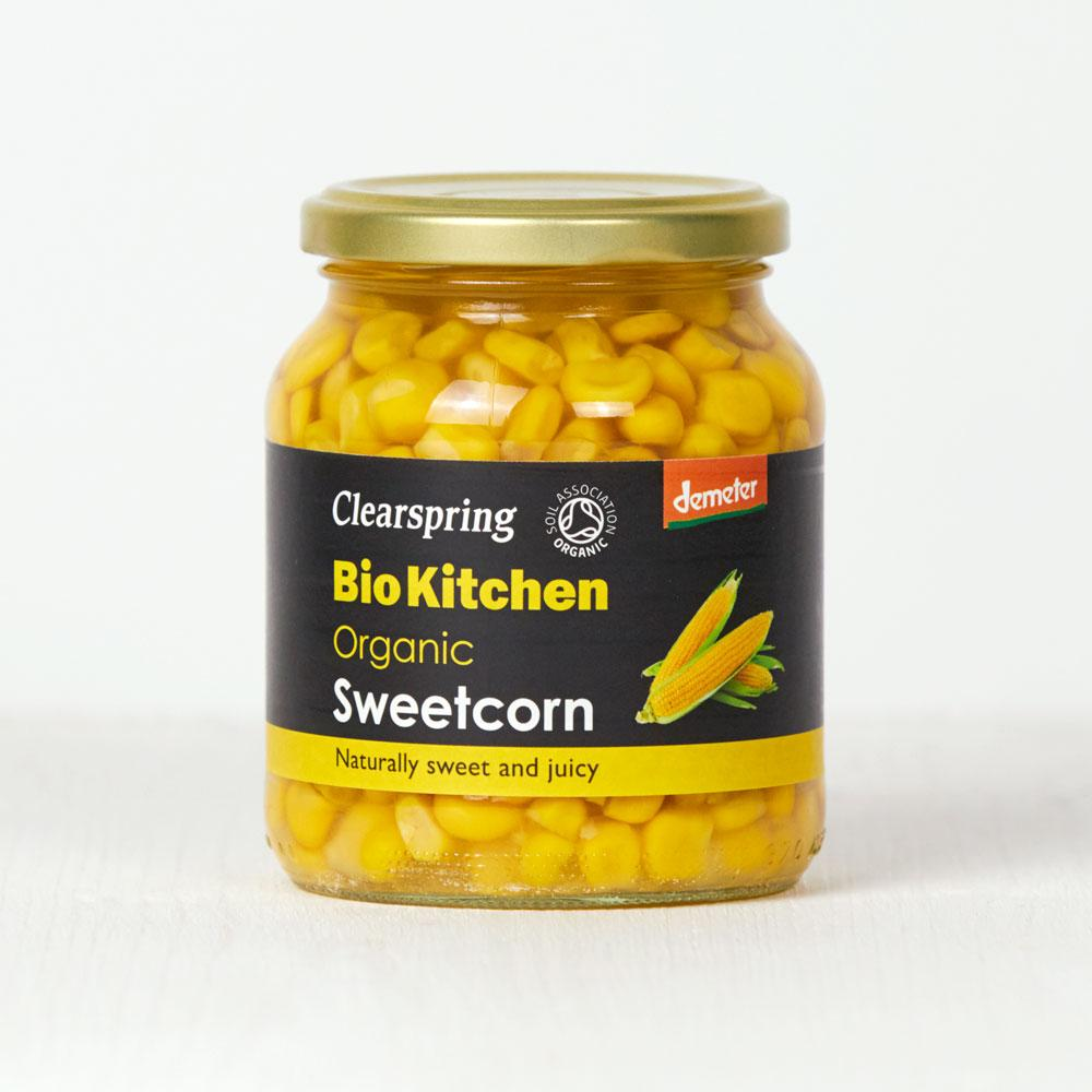 Clearspring Organic Sweetcorn