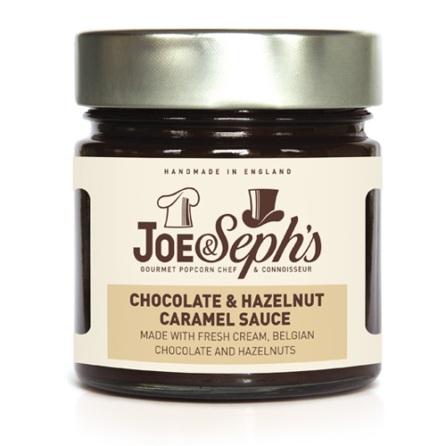Joe and Sephs Chocolate & Hazelnut caramel Sauce